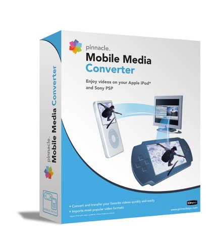 Pinnacle Mobile Media Converter Convert Video to Ipod Or Psp