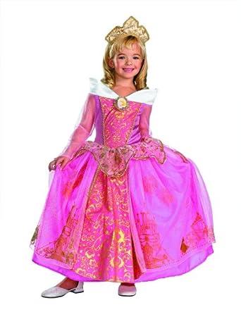 Storybook Aurora Prestige Costume - Extra Small (3T-4T)