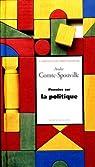Pensees sur la politique par Comte-Sponville