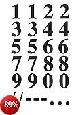 Avery Zweckform 3724 numeri 0-9 Film, 15,5 mm, 56 fogli