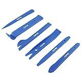 Capri Tools 21076 Auto Trim, Upholstery Panel Removal Set, Nylon, Blue, 6-Piece