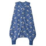 HALO SleepSack Micro-Fleece Early Walker Wearable Blanket, Blue Pup Pals, X-Large