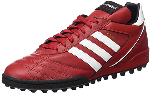 Adidas Kaiser 5 Team - Scarpe Da Calcio, Colore Rosso/Bianco/Nero, Taglia 44 2/3