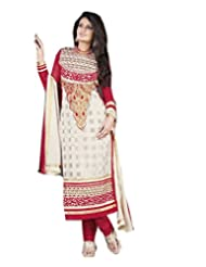 DivyaEmporio Women's Ethnic Salwar Suit Dupatta Unstitched Dress Material (Free Size) - B00V4IEC9M