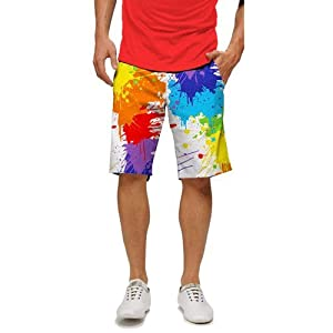 Loudmouth Golf Mens Shorts: Drop Cloth - Size 36 by Loudmouth Golf
