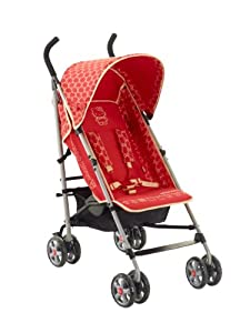 my first hello kitty stroller red baby. Black Bedroom Furniture Sets. Home Design Ideas