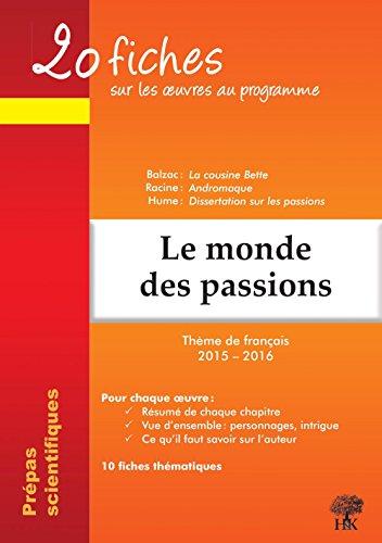 dissertations sur les passions et la