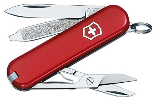 Victorinox Swiss Army Classic SD Pocket Knife, Red