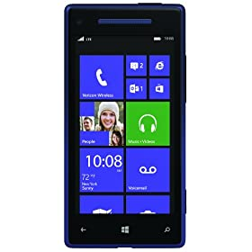 HTC Windows Phone 8X, Blue (Verizon Wireless)