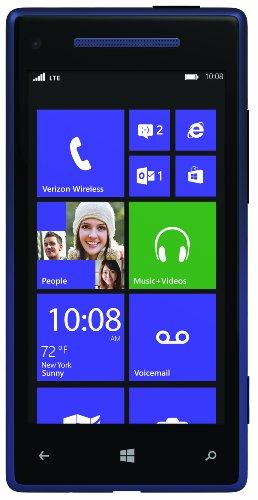 HTC 8X 4G Windows Phone, Blue (Verizon Wireless)