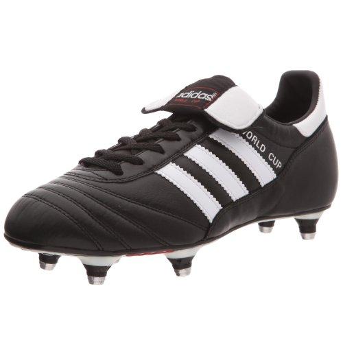 Adidas - World Cup, Scarpe Da Calcio, unisex, (Schwarz/Weiß), 45 1/3 EU