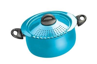Bialetti Trends 5-Quart Pasta Pot, Turquoise