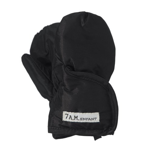 7AM Enfant Classic Mittens 212, Black, Small