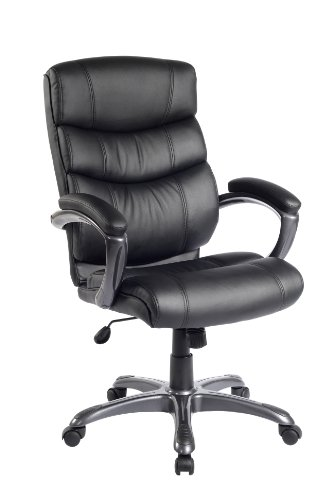 Flash Furniture High Back Executive Chair in Black