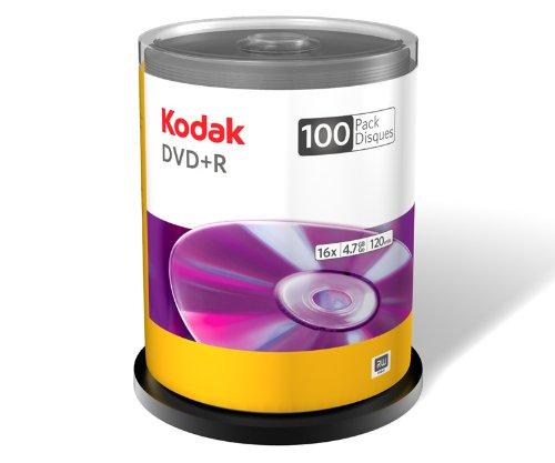 Kodak 50600 DVD+R - 100 Pack