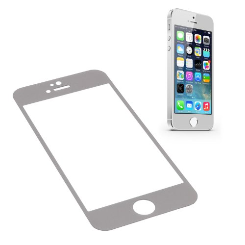 Ggs 0.26Mm Self-Adhesive Optical Glass Lcd Screen Protector For Apple Iphone 5S Silver