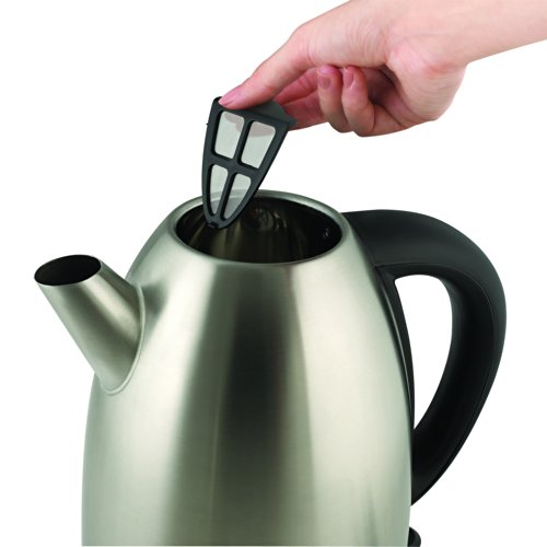 Russell Hobbs RH13552 1-2/3-Liter Stainless-Steel Electric Kettle, Stainless Steel