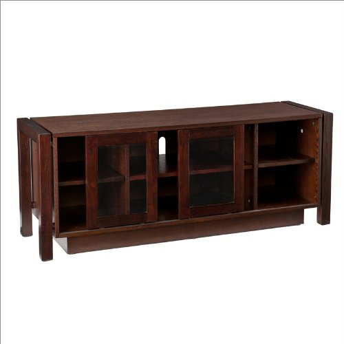 Southern Enterprises Solana Media Console in Espresso