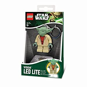 Lego lg0ke11 jeu de construction porte cl led star wars maitre yoda lego light key - Maitre yoda lego ...