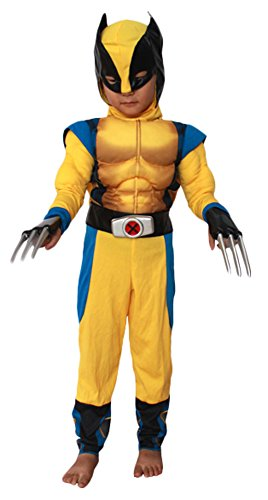 Ace Halloween Children's Kids Boys Cute Muscle Wolverine Costumes