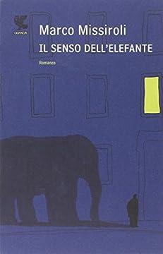 Cover Il senso dell'elefante
