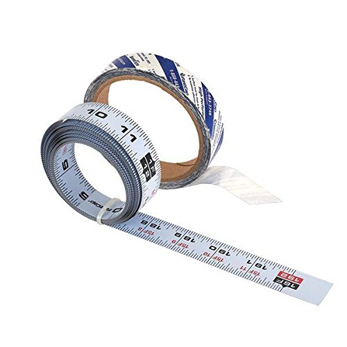 Fastcap Self-Adhesive 16' Measuring Tape Reversible Left or Right Read, Standard