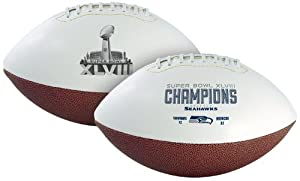 NFL Seattle Seahawks Super Bowl 48 Champions Football by Jarden Sports Licensing