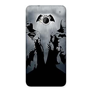 Day Grey Knight Back Case Cover for HTC One M7