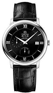 NEW OMEGA DEVILLE PRESTIGE POWER RESERVE CO-AXIAL MENS WATCH 424.13.40.21.01.001
