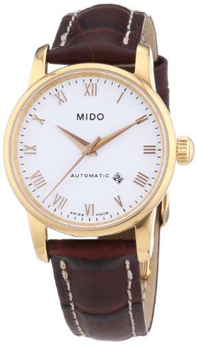 mido-baroncelli-ii-femme-29mm-bracelet-cuir-marron-saphire-automatique-cadran-blanc-montre-m76003268