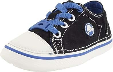 Crocs Hover Sneak, Unisex-Child Trainers, Black/Seablue, 9 UK Child