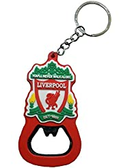 Techpro Double Sided Liverpool Logo Football Keychain With Bottle Opener