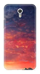 Generic Hard Printed Back Cover for Lenovo Zuk Z1 (Multicolor)