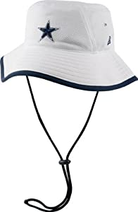 Mens New Era Dallas Cowboys Training Bucket Hat One Size Fits All by New Era
