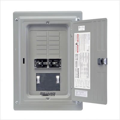 Reliance Controls Trc1006C Indoor Transfer Panel With Meters