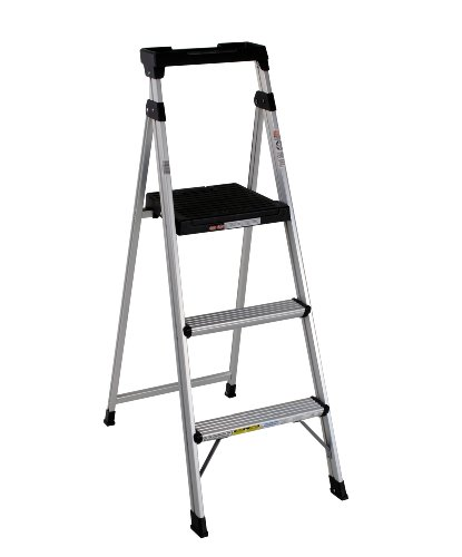 Cosco 20-552ABL Lite Solution Aluminum Step Ladder, 5-Foot