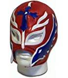 Son of the Devil adult luchador mexican wrestling mask red