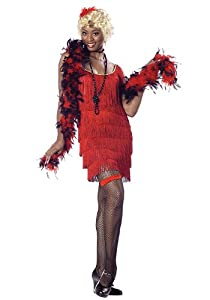 Fashion Flapper Costume - X-Large - Dress Size 12-14