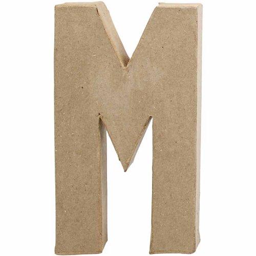 creativ-205-cm-1-piece-papier-mache-letter-m