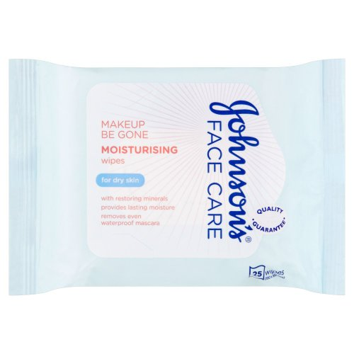 johnsons-face-care-makeup-be-gone-moisturising-wipes-pack-of-25