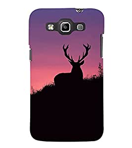 Deer Wallpaper Cute Fashion 3D Hard Polycarbonate Designer Back Case Cover for Samsung Galaxy Quattro Duos :: Samsung Galaxy Grand Quattro :: Samsung Galaxy Win Duos I8552