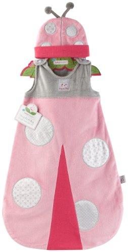 "Baby Aspen ""Snug As A Bug"" Ladybug Snuggle Sack, 0-6 Months"