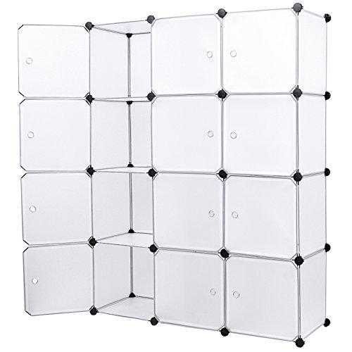 songmics-interlocking-storage-cube-organiser-shelf-shoe-rack-wardrobe-cabinet-112-x-37-x-148-cm-whit