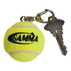 Buy Gamma Tennis Ball Keychain with Logo, Yellow by Gamma
