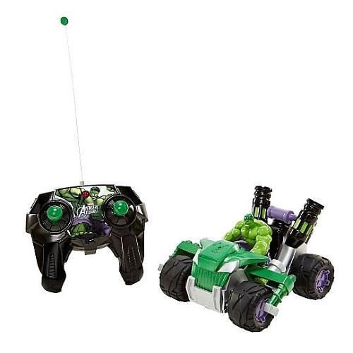 Marvel Avengers 1:24 Scale 49 Mhz Remote Control Hulk Atomic Rover