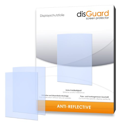 2 x disGuard Anti-Reflective Displayschutzfolie