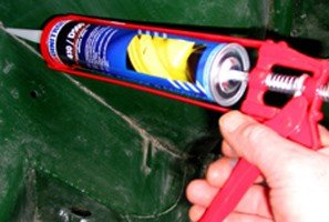 Dinitrol Joint Sealer Black cartridge 310ml - (Caulking Gun not included) - seal joints between panels