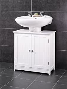 White New England Bathroom Under Sink Cabinet Sale Price