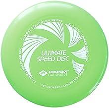 Schildkröt Fun Sports frisbees Ultimate Speed Disc Competición lanzamiento Scheibe oficial Peso y tamaño, lime, 970059