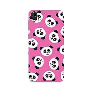 Ebby Panda Love Premium Printed Case For HTC Desire 728